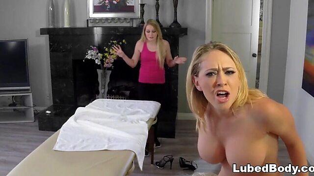 wifes first massage
