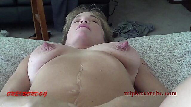 wife slapping my cock