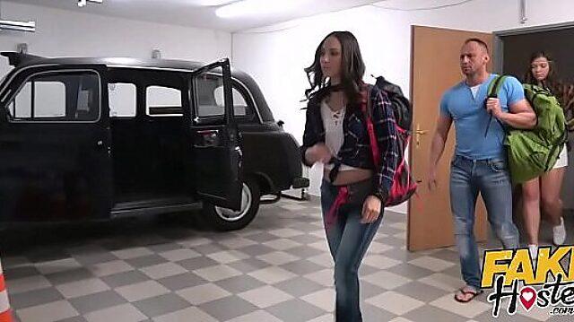 fake hostel anal