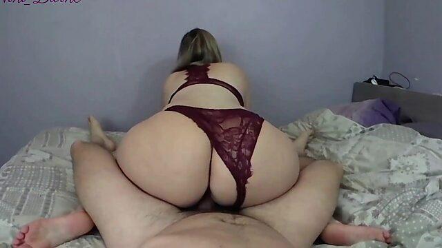 huge white booty