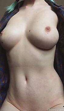 natural tits drop