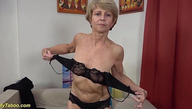 mature striptease