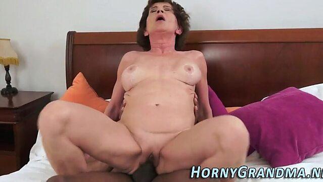 black granny masturbating