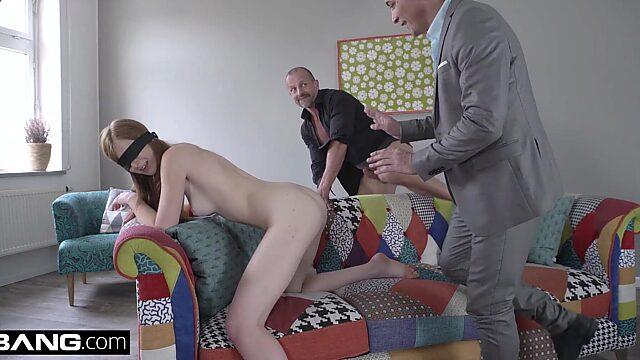 surprise threesome