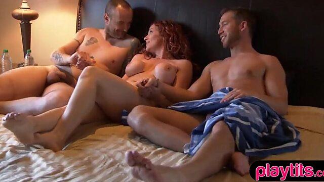 threesome wife sex