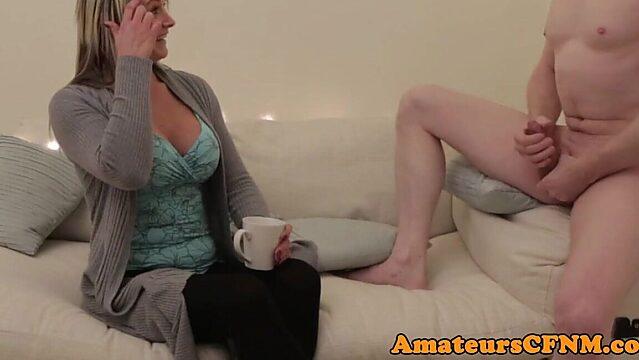 mature teasing