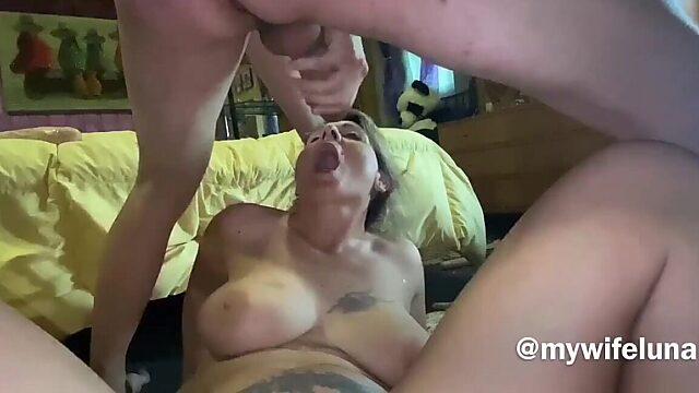 amateur milf anal