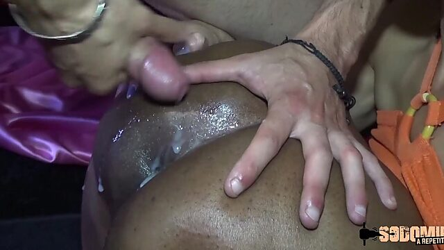 anal french black