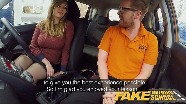 fake driving