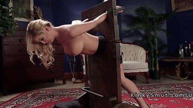 bondage blonde