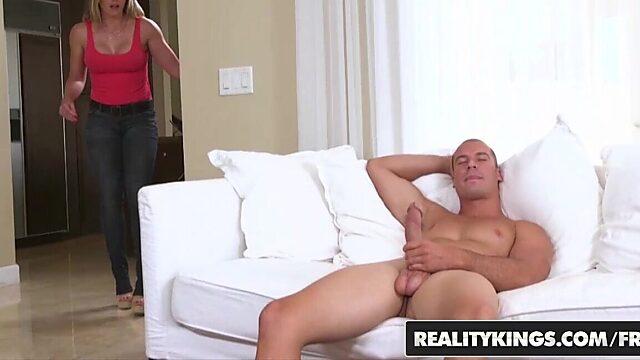 yoga mom anal