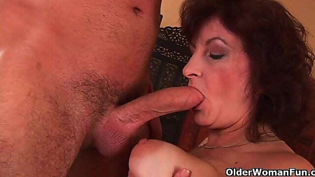 mature big tits and hairy pussy