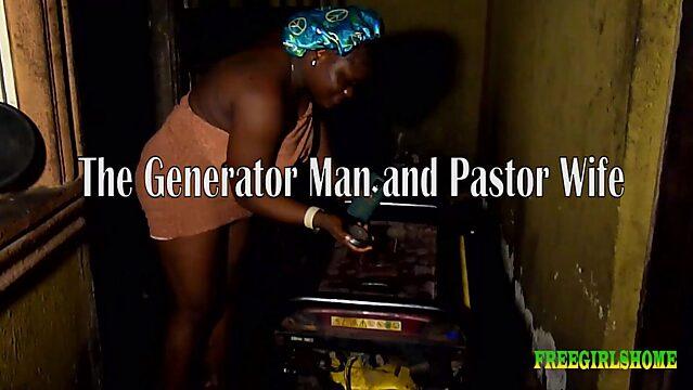 black pastor