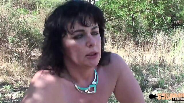 mature french anal