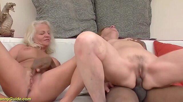 granny interracial orgy
