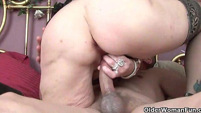 older woman creampie