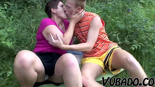 mature couple and teen anal