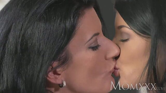 mature lesbians moms