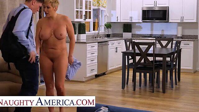 naughty american friend mom
