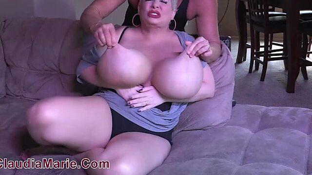 massive udders