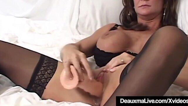 busty mature huge dildo