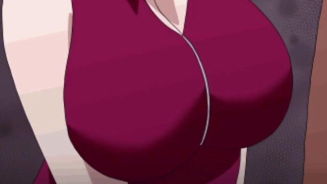 big anime tits compilation