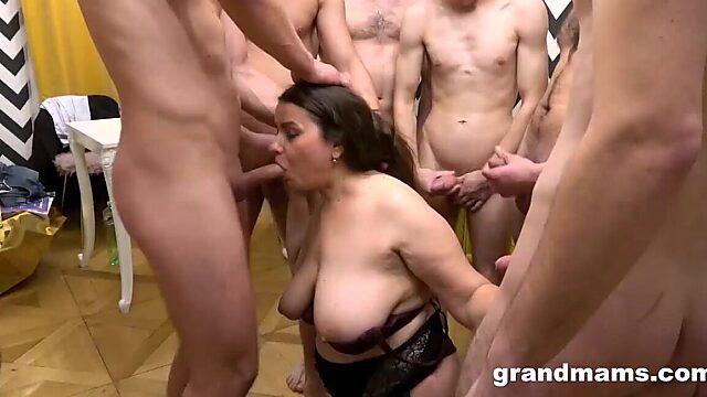bukkake granny