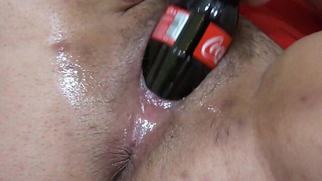bottle in pussy
