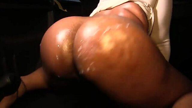 ebony stripper fuck