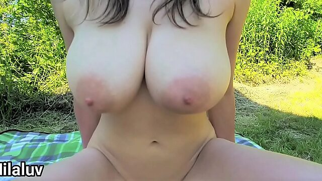 young huge tits creampie