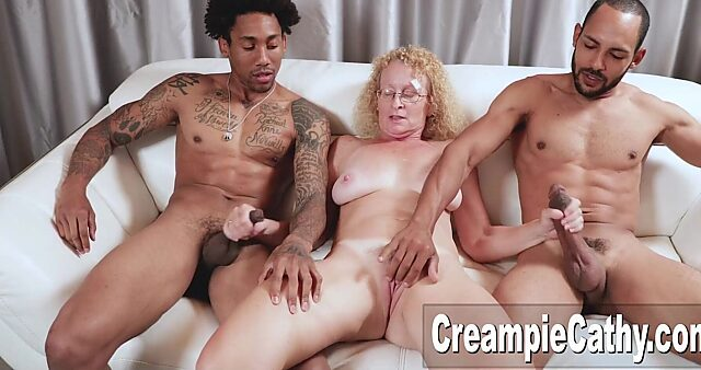 mature anal creampie gangbang