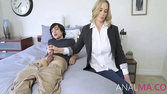 busty mom anal