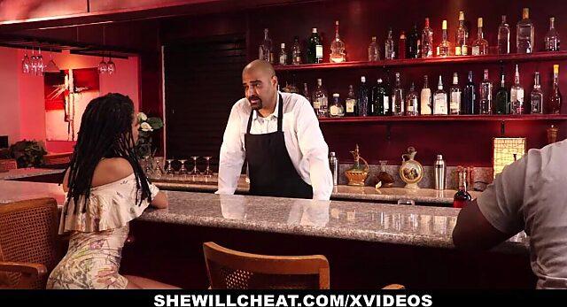 cheating black wife