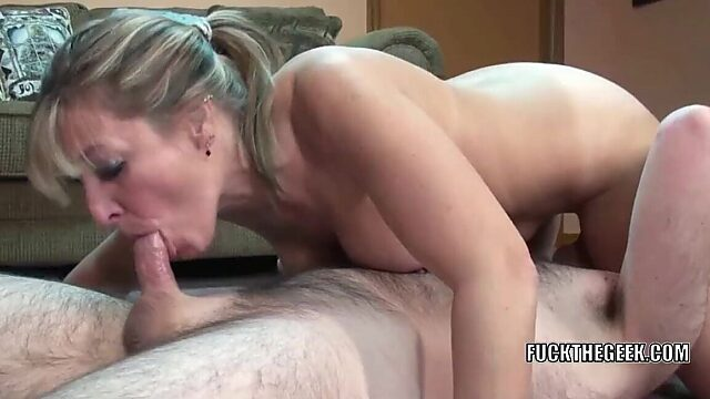 real big tits mom