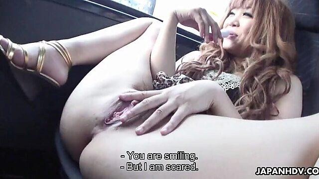 masturbation in a car