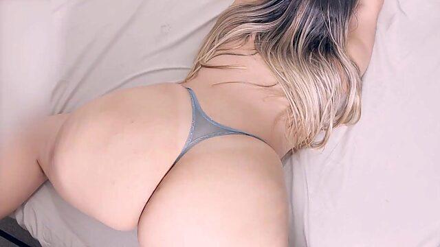 cum on big ass