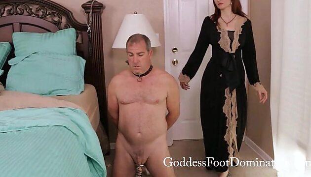 femdom footslave