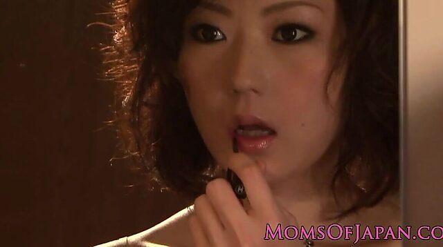 closeup japanese milf