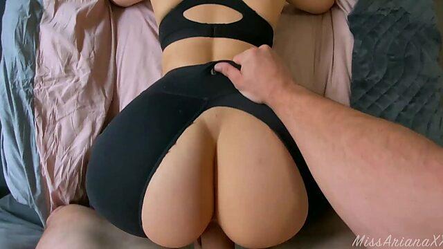 ripped yoga pants